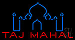 Taj Mahal Logo LED Neon Flex Sign