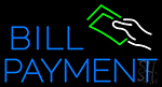 Bill Payment LED Neon Flex Sign
