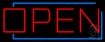 Open Border LED Neon Flex Sign