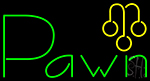 Pawn With Graphic LED Neon Flex Sign