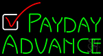 Payday Advance LED Neon Flex Sign