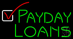 Payday Loans LED Neon Flex Sign