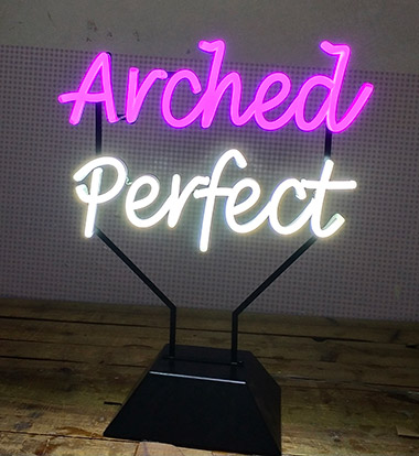 Table Top LED Neon Sign