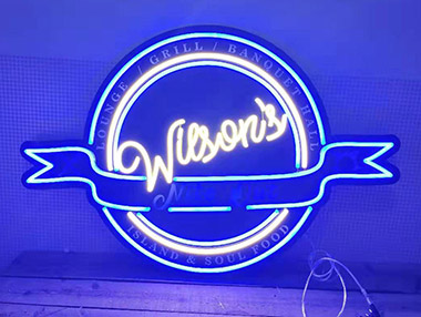 UV Print LED Neon Sign
