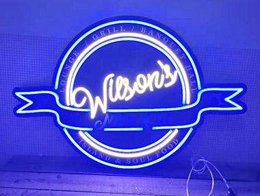 UV Print Neon Flex Sign