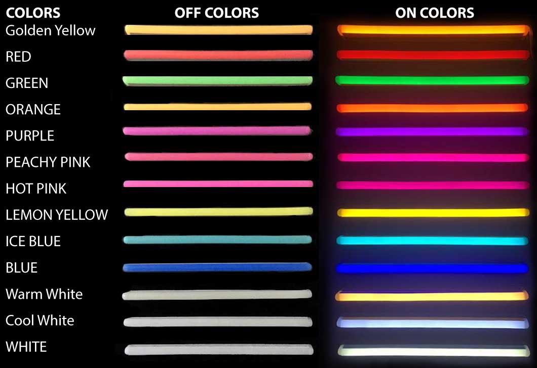 Neon Flex Colors