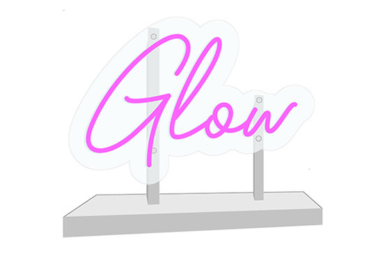 LED Neon Sign with Stand