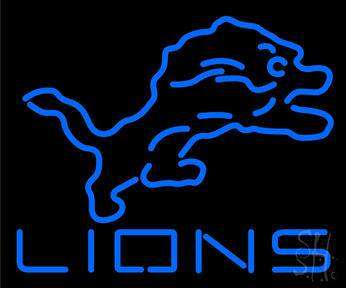 Lions LED Neon Sign