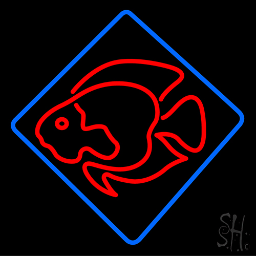 Fish Shaped LED Neon Sign