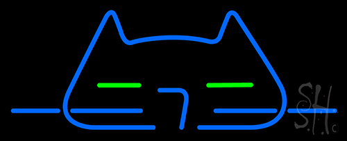 Cool Cat LED Neon Sign