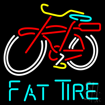 Fat Tire Beer Neon Flex Sign