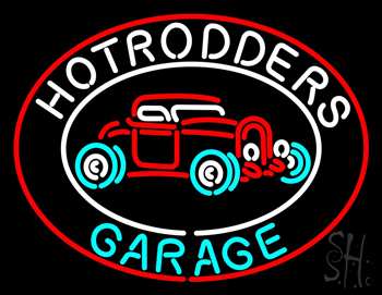 Hotrodders Garage Beer Neon Flex Sign
