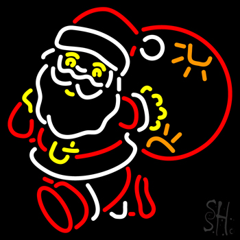 Santa Claus Neon Flex Sign