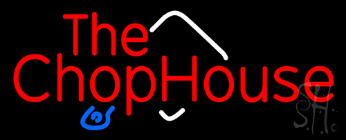 The Chophouse Neon Flex Sign