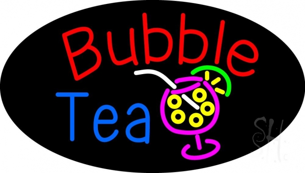 Bubble Tea Neon Flex Sign