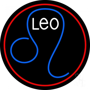 Leo Zodiac Neon Flex Sign