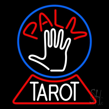 Palm Tarot Crystal Neon Flex Sign