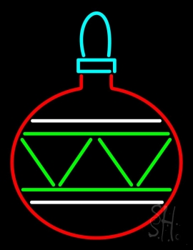 Christmas Bulb Neon Flex Sign