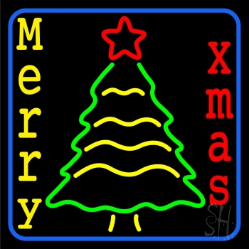 Merry Xmas Neon Flex Sign
