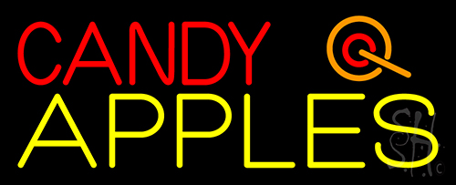 Candy Apples Apple Neon Flex Sign