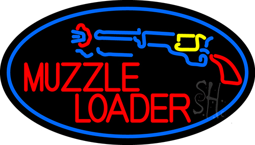 Muzzle Loader Neon Flex Sign
