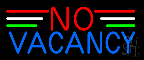 No Vacancy Neon Flex Sign