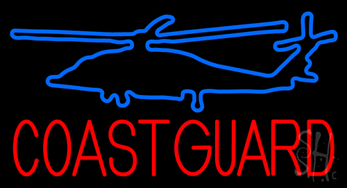 Coast Guard Neon Flex Sign