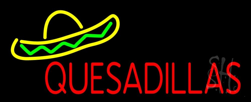 Quesadillas Neon Flex Sign