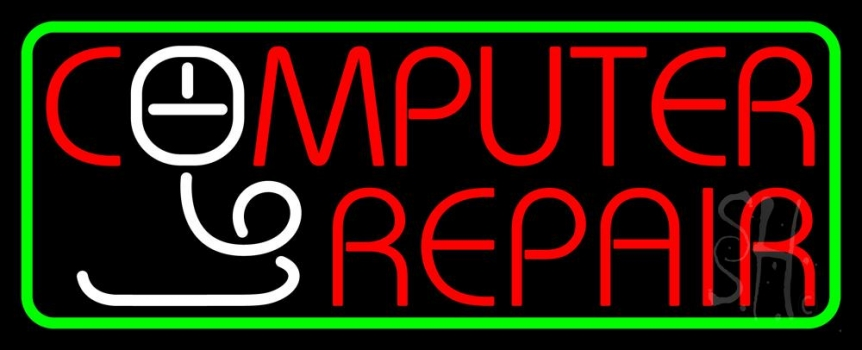 Computer Repair Withmouse Neon Flex Sign