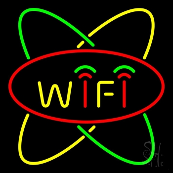 Wifi With Border Neon Flex Sign