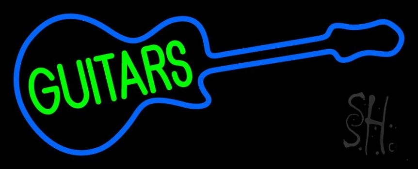 Guitars 3 Neon Flex Sign