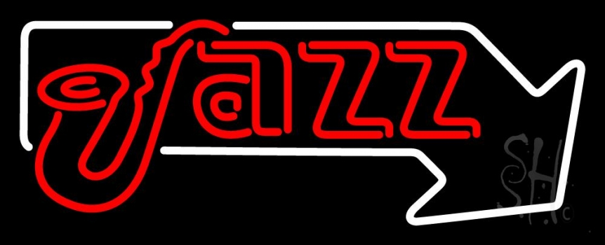 Jazz Red 1 Neon Flex Sign