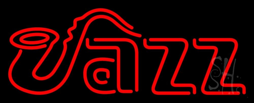 Jazz Red 3 Neon Flex Sign