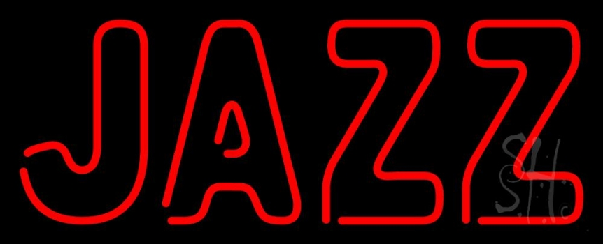 Red Jazz Block 4 Neon Flex Sign