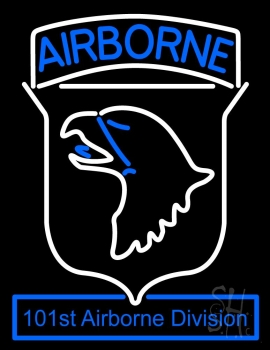 Airborne Neon Flex Sign