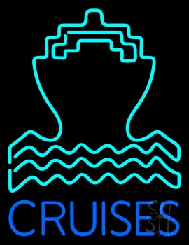 Blue Cruise Neon Flex Sign