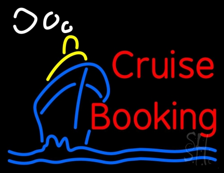 Cruise Booking Neon Flex Sign