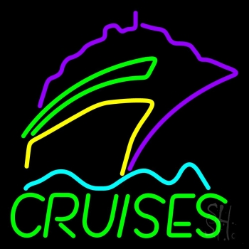 Green Cruises Logo Neon Flex Sign