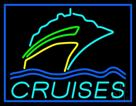 Turquoise Cruises Logo Neon Flex Sign