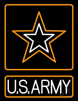 Us Army Neon Flex Sign