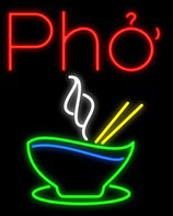 Pho With Logo Neon Flex Sign