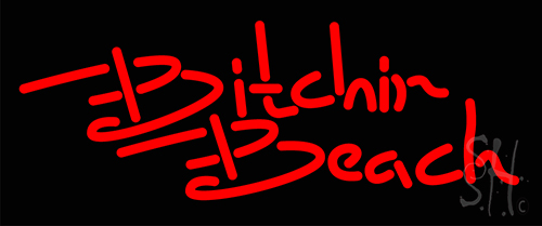 Bitchin Beach Neon Flex Sign
