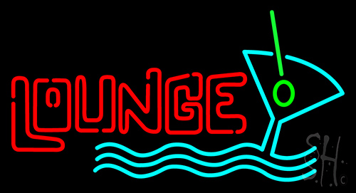 Lounce Beer Glass Neon Flex Sign