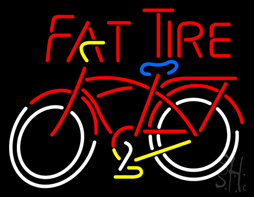 Fat Tire Neon Flex Sign