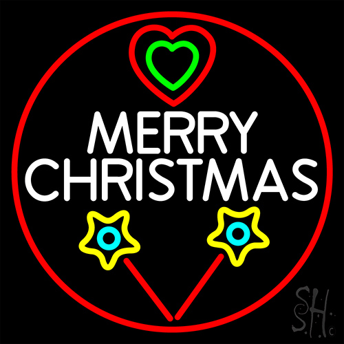 Merry Christmas Neon Flex Sign
