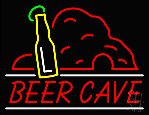 Beer Cave Neon Flex Sign
