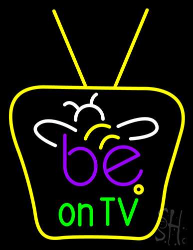 Be On Tv Neon Flex Sign