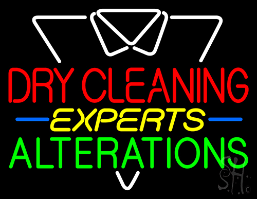 Dry Cleaning Experts Neon Flex Sign