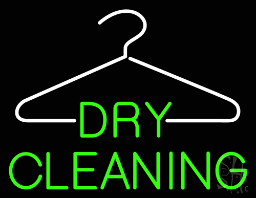 Dry Cleaning Neon Flex Sign