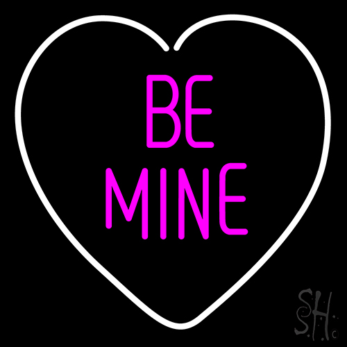 Heart Be Mine Neon Flex Sign